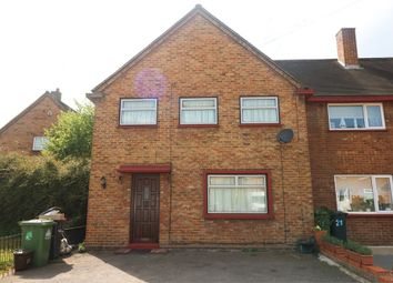 Thumbnail 3 bedroom end terrace house to rent in Chadwell Avenue, Cheshunt, Hertfordshire