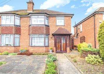 Thumbnail 3 bed semi-detached house for sale in Normans Close, Hillingdon, Middlesex