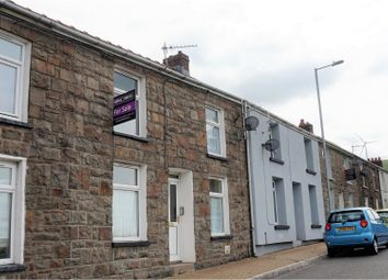 Thumbnail 3 bed terraced house for sale in Vale View Terrace, Bridgend