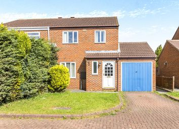 Thumbnail 3 bed semi-detached house for sale in Heatherburn Court, Newton Aycliffe