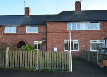 Thumbnail 3 bedroom terraced house for sale in Kersall Drive, Bulwell, Nottingham