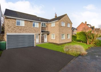 Thumbnail 5 bed detached house for sale in Vence Close, Stamford