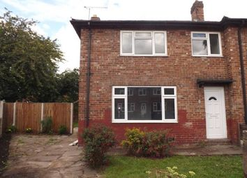 Thumbnail 3 bed end terrace house for sale in Alder Crescent, Warrington, Cheshire