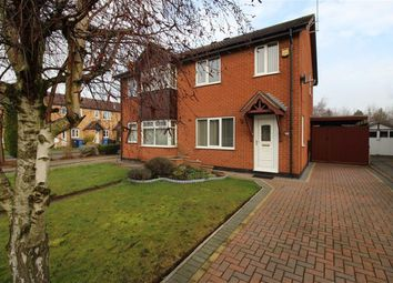 Thumbnail 3 bedroom semi-detached house for sale in Glastonbury Road, Alvaston, Derby