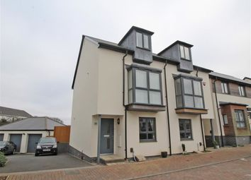 Thumbnail 3 bed terraced house for sale in Cobham Close, Plymouth