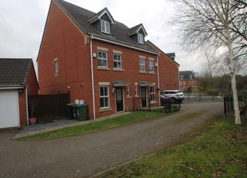 Thumbnail 3 bed town house to rent in Manson Drive, Cradley Heath, West Midlands