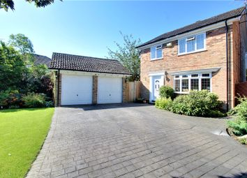 Thumbnail 4 bed detached house for sale in Henley Drive, Frimley Green, Camberley, Surrey