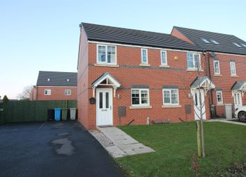 Thumbnail 2 bed semi-detached house for sale in Woodsend Crescent Road, Urmston, Manchester