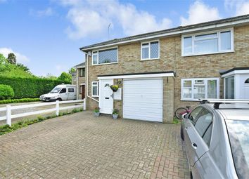 Thumbnail 3 bed terraced house for sale in Netley Close, Vinters Park, Maidstone, Kent