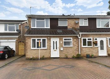 Thumbnail 3 bed semi-detached house for sale in Lambourne Drive, Maidenhead