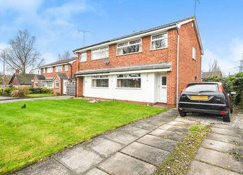 Thumbnail 3 bed semi-detached house for sale in Tarlton Close, Rainhill, Prescot