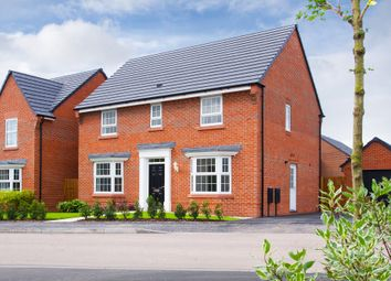 "Thumbnail 4 bed detached house for sale in ""Bradgate"" at Croft Drive, Moreton, Wirral"