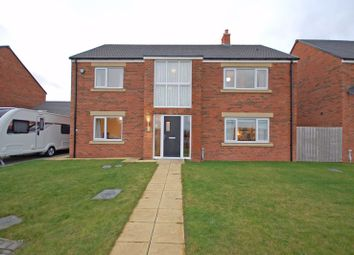Thumbnail 4 bed detached house for sale in White House Drive, Killingworth, Newcastle Upon Tyne