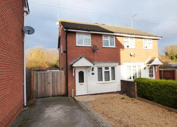 Thumbnail 2 bed semi-detached house for sale in Flamborough Close, Woodston