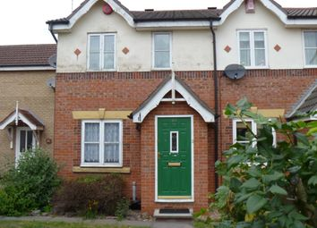 Thumbnail 2 bed terraced house to rent in Newham Close, Leicester