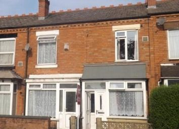 Thumbnail 3 bed terraced house to rent in Holder Road, Yardley, Birmingham