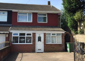 Thumbnail 3 bed semi-detached house for sale in Harden Rpad, Leamore, Walsall