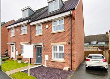 Thumbnail 3 bed town house to rent in Linnet Drive, Rainworth, Mansfield