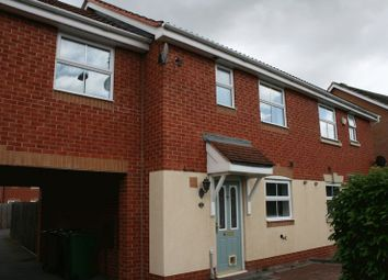 Thumbnail 3 bed terraced house to rent in Garrington Road, Aston Fields, Bromsgrove