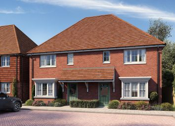 Thumbnail Semi-detached house for sale in Manton Crescent, Heartenoak Meadows, Heartenoak Road, Hawkhurst