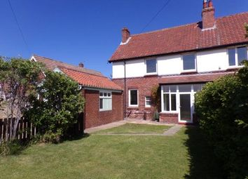 Thumbnail 5 bed semi-detached house for sale in Ruswarp Lane, Whitby, North Yorkshire, .