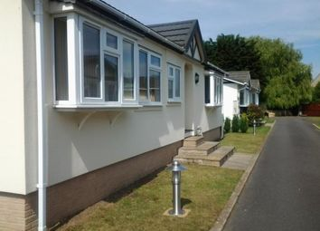Thumbnail 2 bed mobile/park home for sale in Padnal, Littleport, Ely