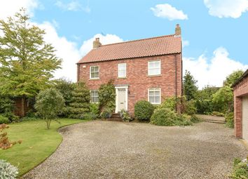 Thumbnail 4 bed detached house for sale in Back Lane, Tollerton, York