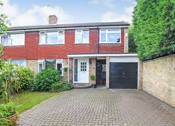 Thumbnail 4 bed semi-detached house for sale in Byron Grove, East Grinstead, West Sussex