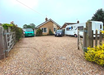 Thumbnail 2 bed detached bungalow for sale in Norfolk Road, Wangford, Beccles