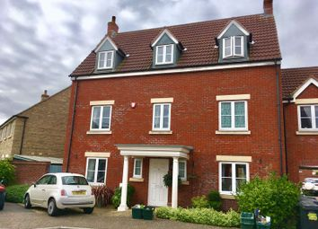 Thumbnail 5 bed semi-detached house for sale in Bransby Way, Weston Village, Weston-Super-Mare
