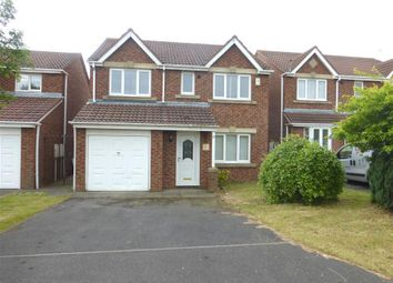 Thumbnail 4 bed detached house to rent in Stonechat Close, Hartlepool