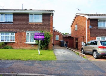 Thumbnail 3 bed semi-detached house for sale in Stoneydale Close, Newhall, Swadlincote