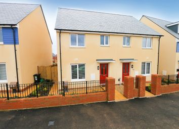 Thumbnail 3 bed semi-detached house for sale in Rush Meadow Road, Cranbrook, Exeter