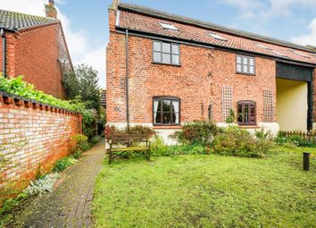 Thumbnail 3 bed barn conversion for sale in Garden Court, Loddon, Norwich