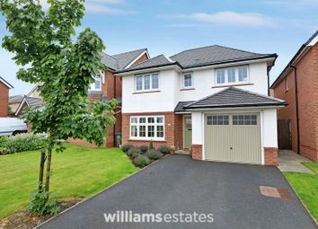 Thumbnail 4 bed detached house for sale in Heritage Drive, Buckley