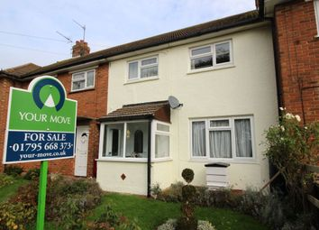 Thumbnail 3 bed terraced house for sale in Swale Avenue, Sheerness