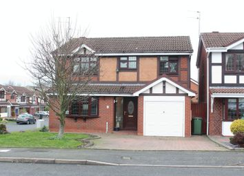 Thumbnail 4 bed detached house for sale in Fernhurst Drive, Brierley Hill