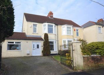 Thumbnail 3 bed semi-detached house for sale in Ty Mawr Avenue, Rumney, Cardiff.