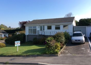 Thumbnail 3 bed detached bungalow to rent in Trewidden Close, Truro