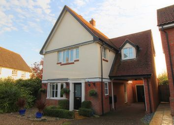 Thumbnail 3 bed detached house for sale in Oakfield Road, Long Stratton, Norwich