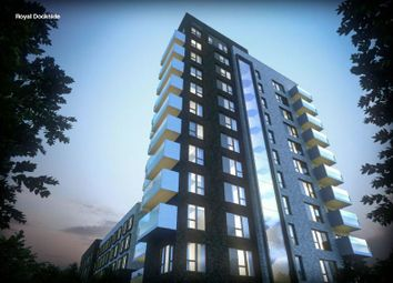 Thumbnail 1 bed flat for sale in Royal Dockside East London, Newham