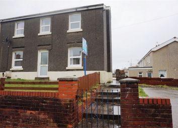 Thumbnail 3 bed end terrace house to rent in Heol Newydd, Cefn Cribwr, Bridgend