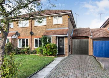Thumbnail 3 bed semi-detached house for sale in Broad Hinton, Twyford, Reading