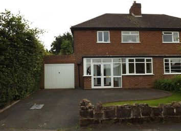 Thumbnail 3 bed semi-detached house for sale in Bilbrook Road, Codsall, Wolverhampton, Staffordshire