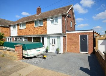 Thumbnail 3 bed semi-detached house for sale in Collingwood Avenue, Corby