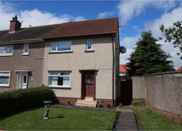 Thumbnail 2 bed end terrace house for sale in Mckinlay Crescent, Irvine