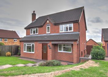 Thumbnail 4 bed detached house for sale in Wetherel Road, Burton-On-Trent