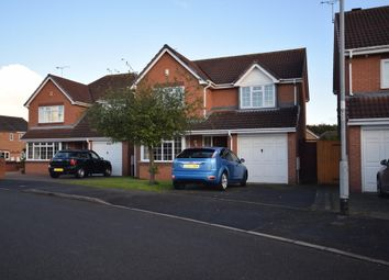 Thumbnail 4 bed detached house to rent in Birkdale Avenue, Branston, Burton-On-Trent