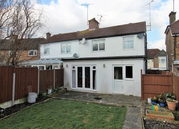 Thumbnail 3 bed semi-detached house for sale in Bostock Avenue, Horsham, West Sussex.