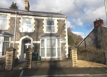 Thumbnail 3 bed end terrace house for sale in Berw Road, Pontypridd